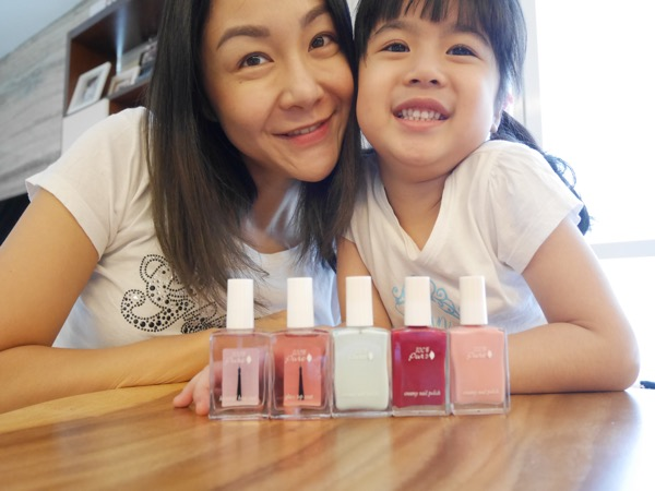 Mother Daughter Bonding with 100% Pure Nail Polishes