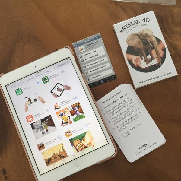 Animal 4D+ Alphabet Interactive CardsReview
